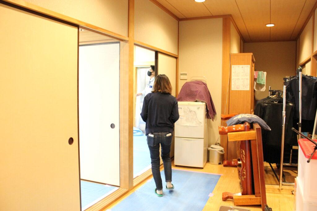 オーソリティー空調 施工現場 和室